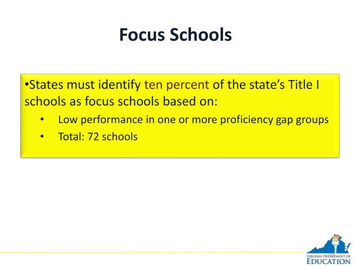 Focus Schools