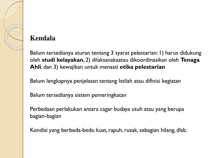 Kendala