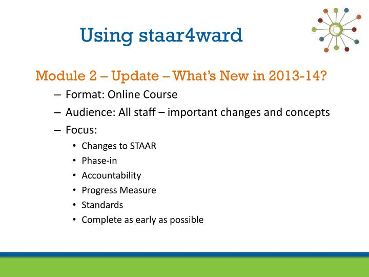 Using staar4ward
