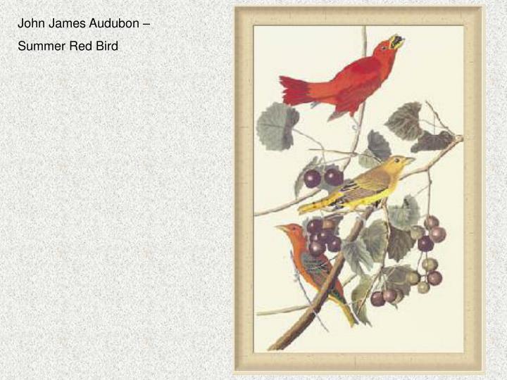 John James Audubon –