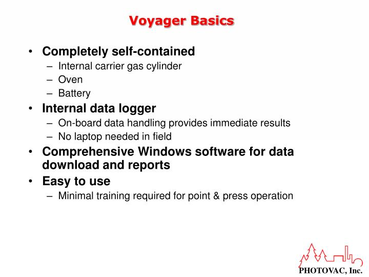 Voyager Basics