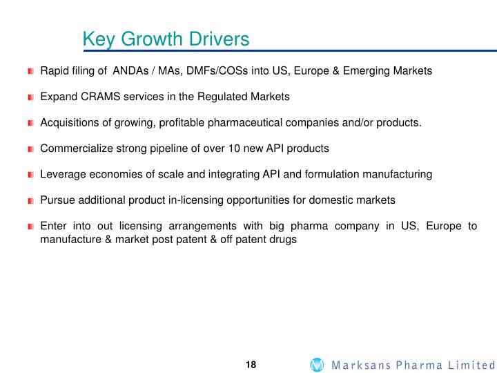Key Growth Drivers