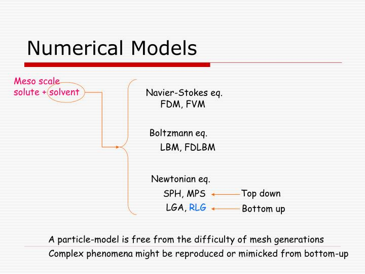 Numerical Models