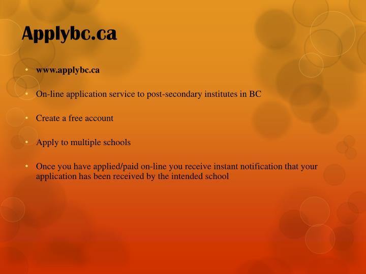 Applybc.ca