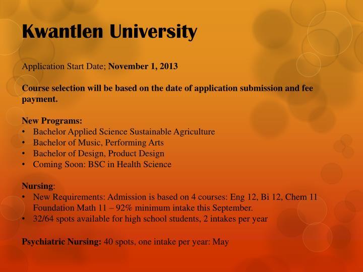 Kwantlen University