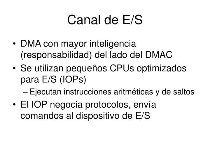 Canal de E/S
