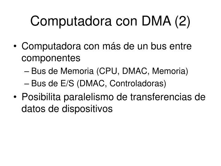 Computadora con DMA (2)