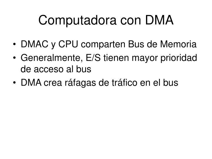 Computadora con DMA