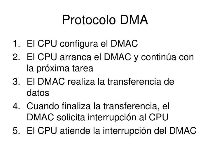 Protocolo DMA
