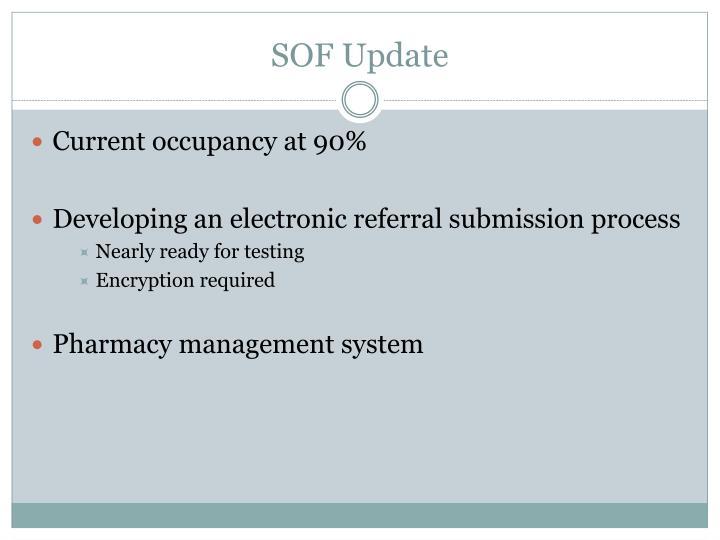 SOF Update