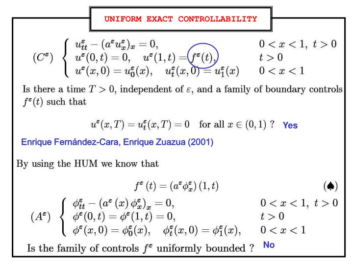 UNIFORM EXACT CONTROLLABILITY