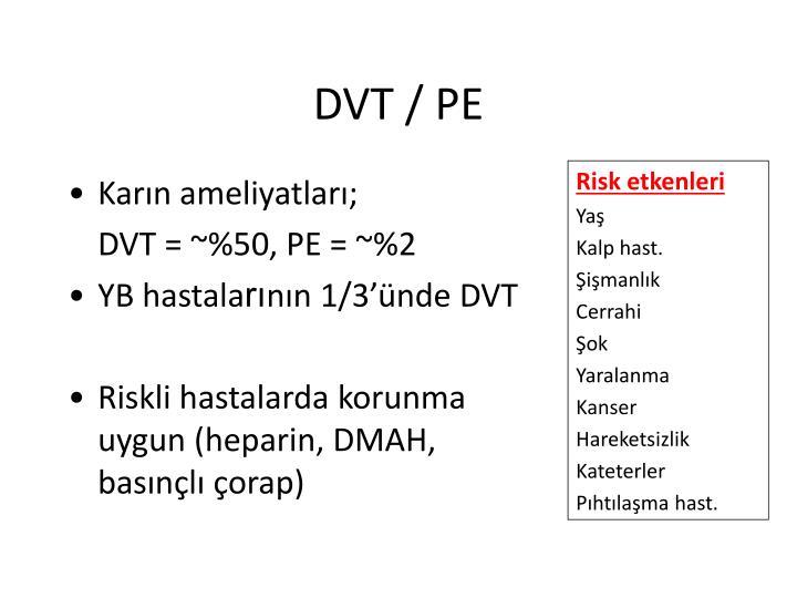 DVT / PE