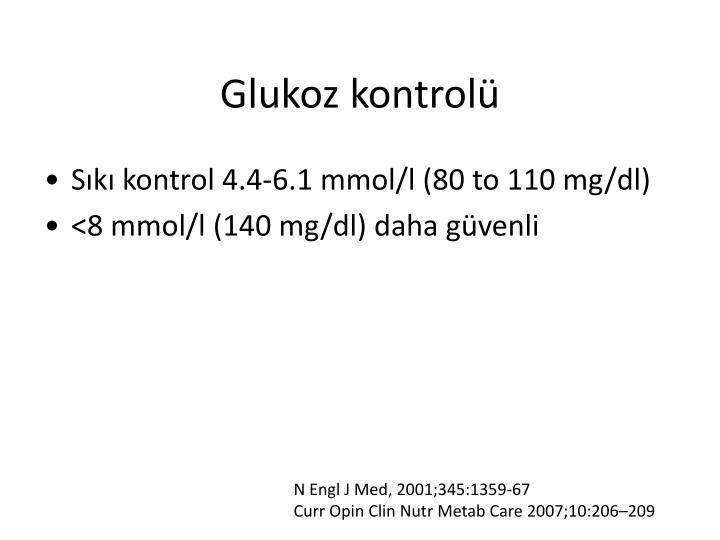 Glukoz kontrolü