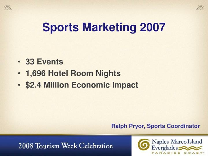 Sports Marketing 2007