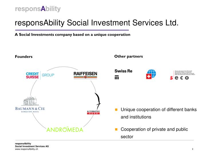 ResponsAbility Social Investment Services Ltd.