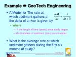 example geotech engineering