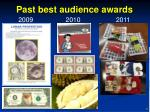 past best audience awards