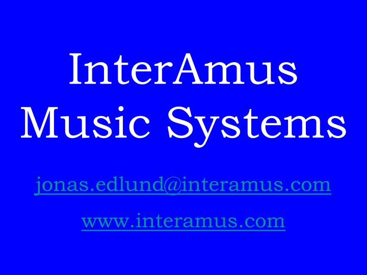 www.interamus.com