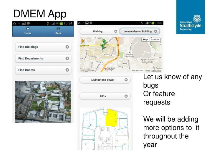 DMEM App