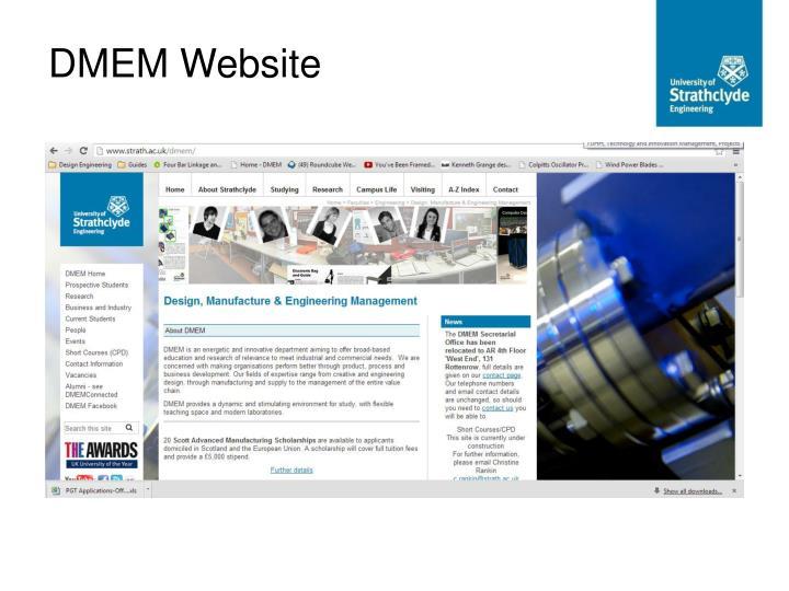 DMEM Website