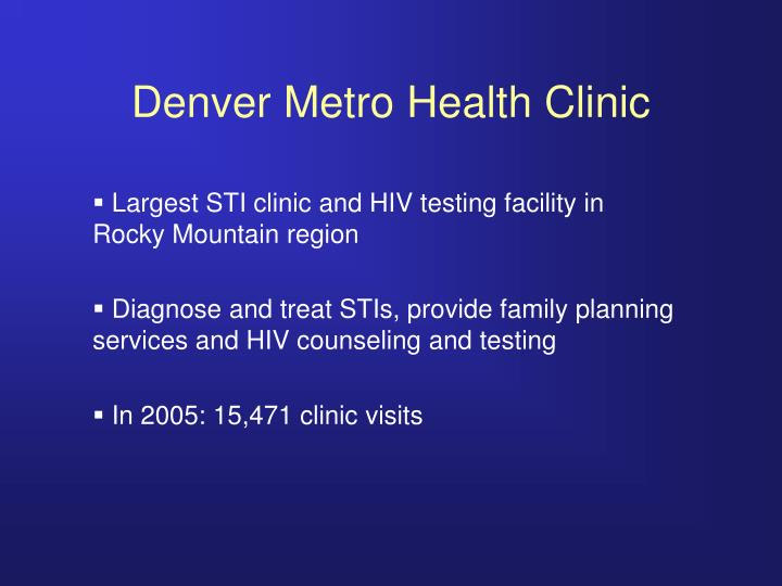 Denver Metro Health Clinic