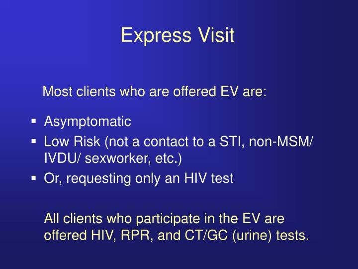 Express Visit