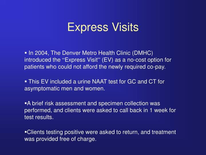 Express Visits