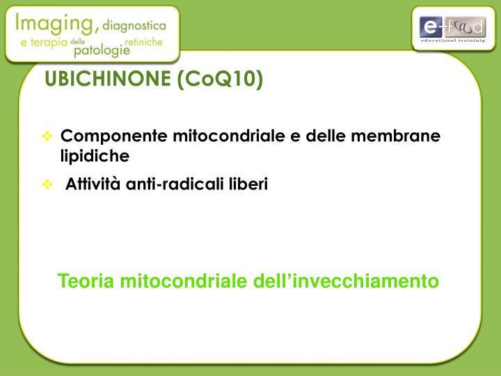 UBICHINONE (CoQ10)
