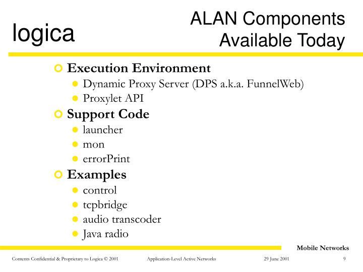 ALAN Components
