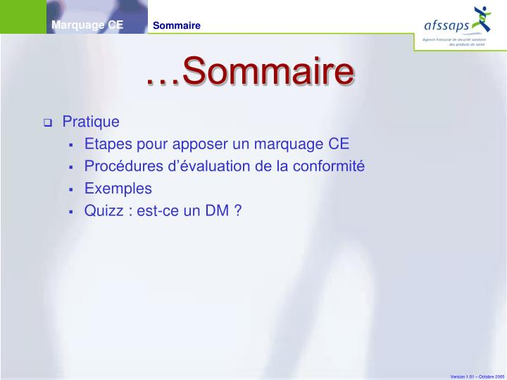 …Sommaire