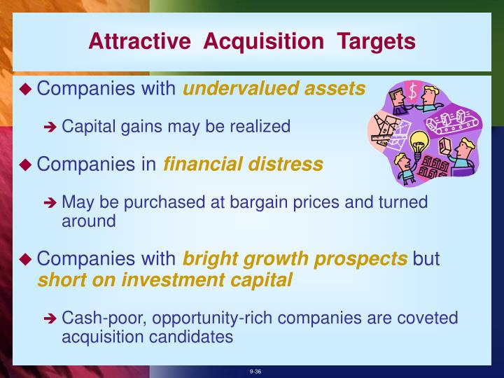 Attractive  Acquisition  Targets