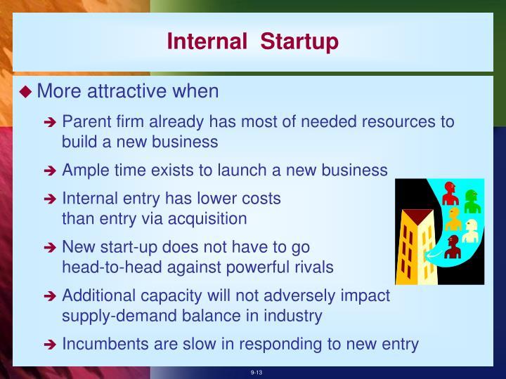 Internal  Startup