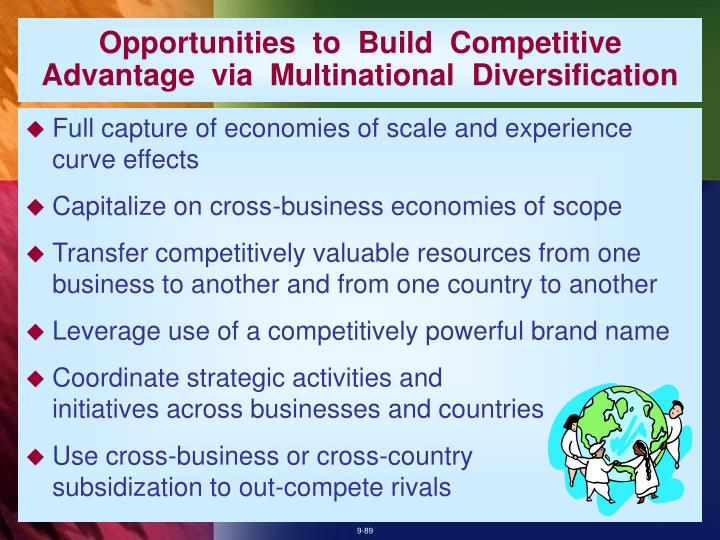 Opportunities  to  Build  Competitive  Advantage  via  Multinational  Diversification