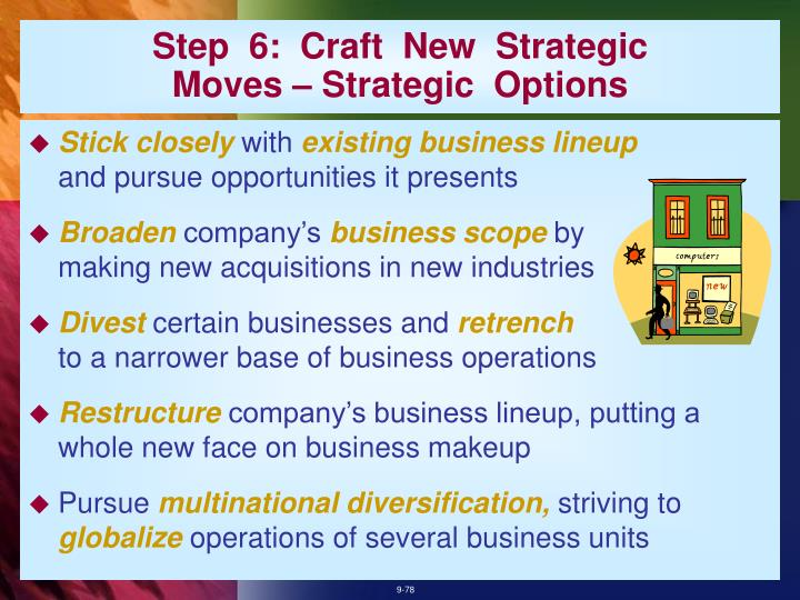 Step  6:  Craft  New  Strategic