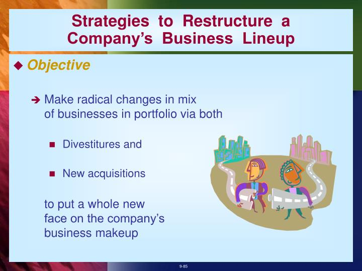 Strategies  to  Restructure  a