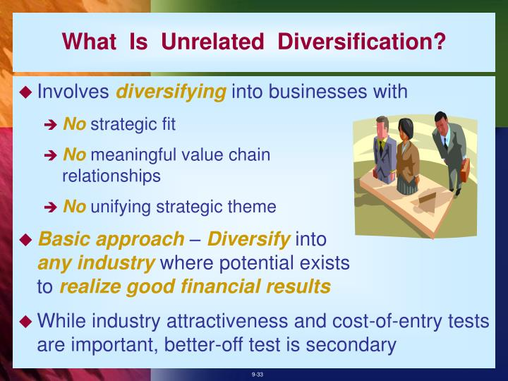 What  Is  Unrelated  Diversification?