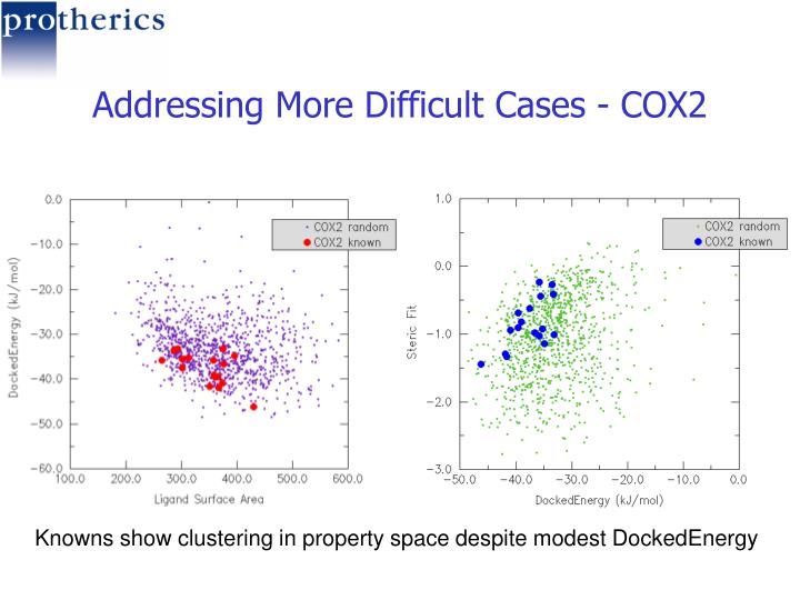 Addressing More Difficult Cases - COX2