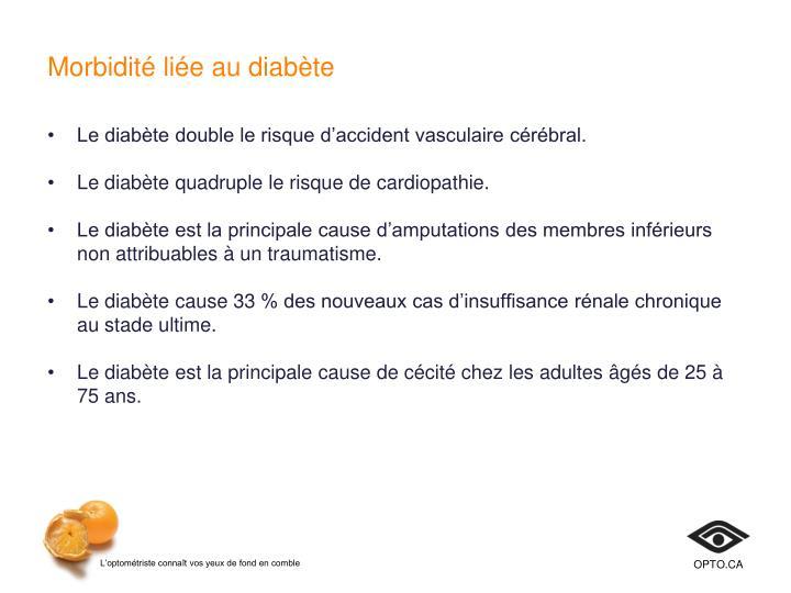 Morbidité liée au diabète
