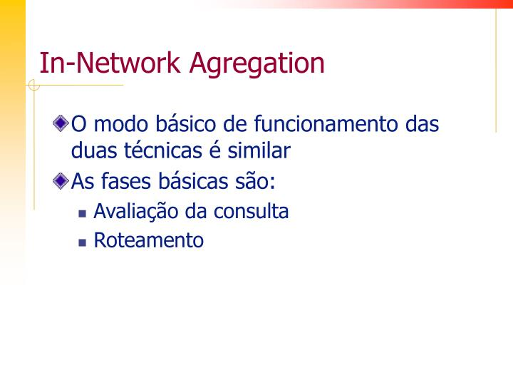 In-Network Agregation