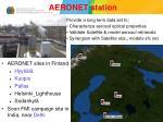 aeronet station