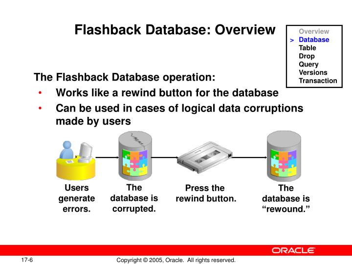 Flashback Database: Overview