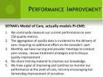 performance improvement17