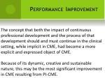 performance improvement5