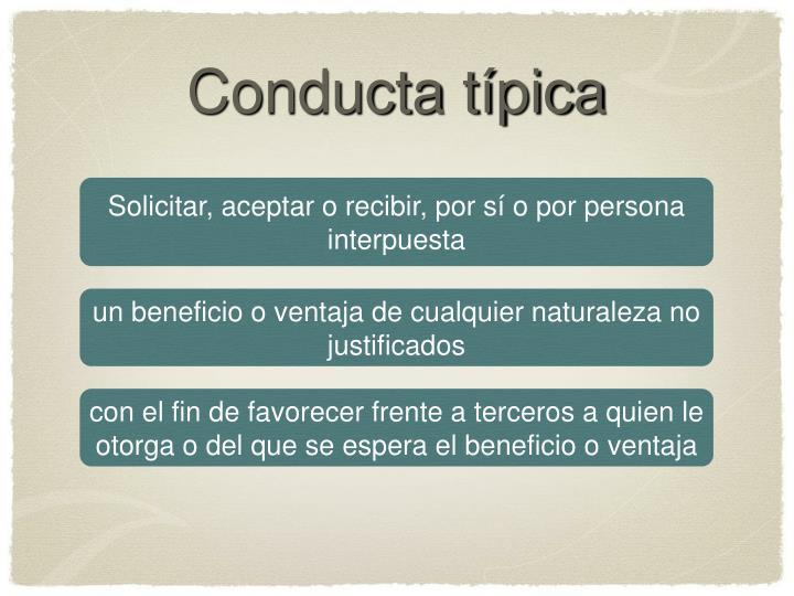 Conducta típica
