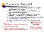 cooperation method 1