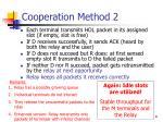 cooperation method 2