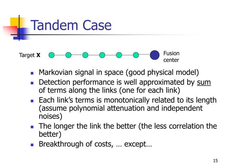 Tandem Case