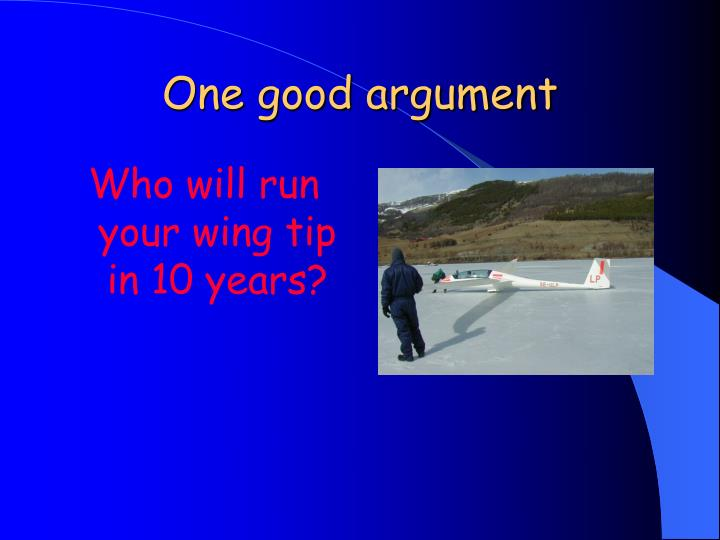 Who will run your wing tip in 10 years?
