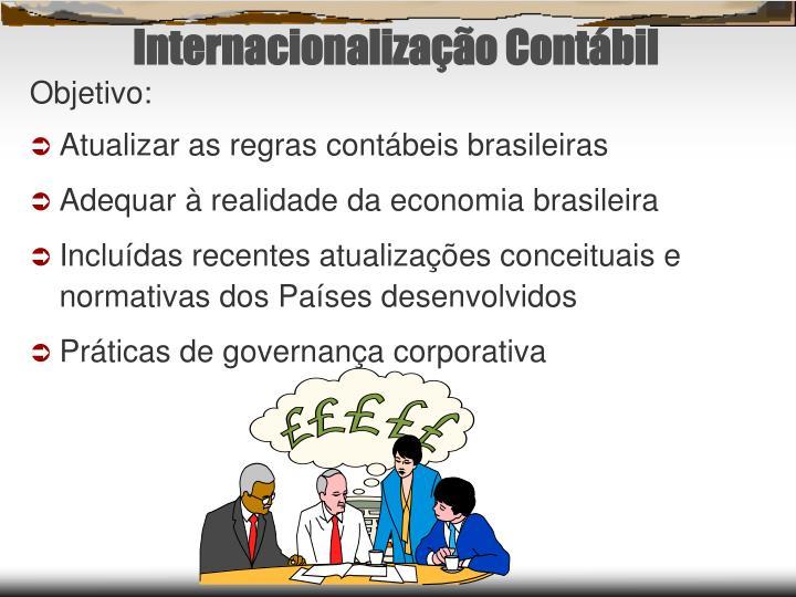 Internacionalização Contábil