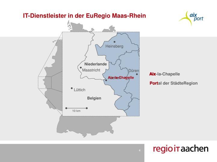IT-Dienstleister in der EuRegio Maas-Rhein
